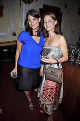 Left to right, Katrina Pavlos and GEORGINA RYLANCE at a special screening of Time Bandits by Terry Gilliam hosted by Faber-Castell and GQ magazine held at The Electric Cinema, 191 Portobello Road, London W11 on 29th June 2009.