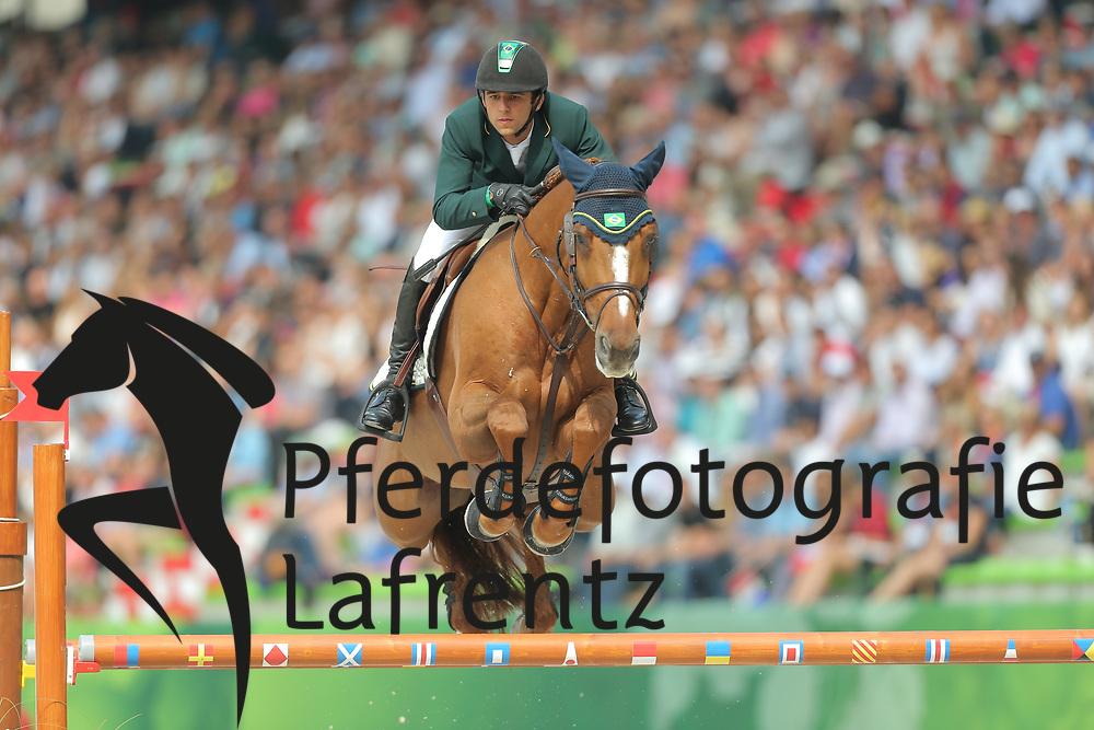 Modolo Zanotelli, Marlon, AD Clouwni<br /> Normandie - WEG 2014<br /> Springen - Finale III<br /> © www.sportfotos-lafrentz.de/ Stefan Lafrentz