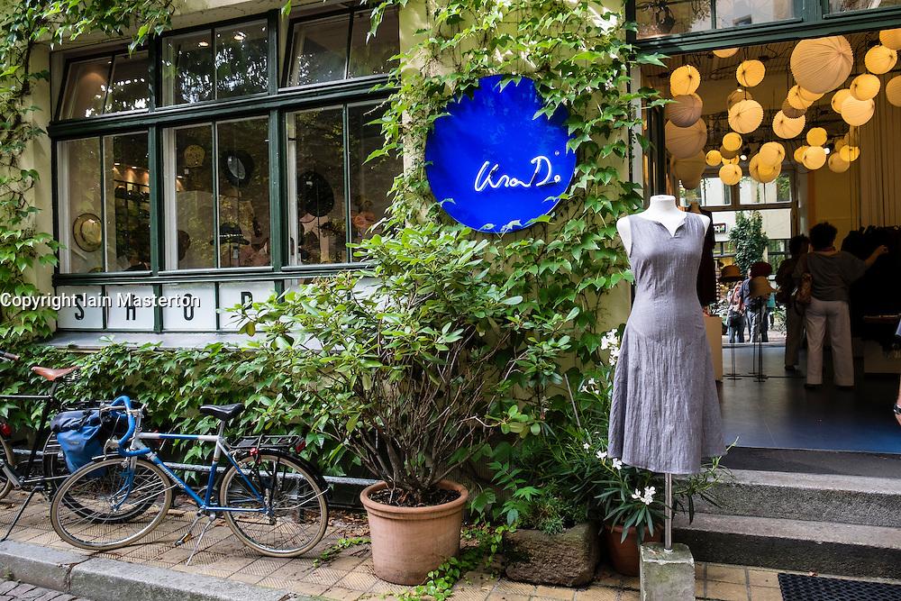 Lisa D fashion shop in Hackescher Markt courtyard in Berlin Germany