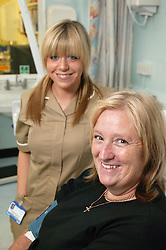 Portrait of Nurse with patient,