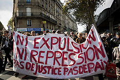 Paris: Demonstration against the Police's violence, 15 Oct. 2016