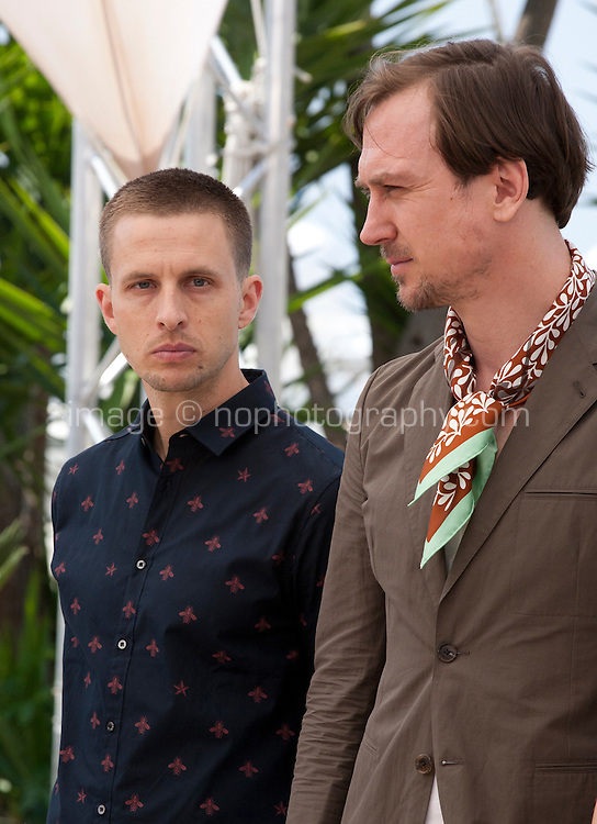 Anders Danielsen Lie, Lars Eidinger, at the Personal Shopper film photo call at the 69th Cannes Film Festival Tuesday 17th May 2016, Cannes, France. Photography: Doreen Kennedy