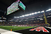 A general view of the College Football Playoff National Championship Game at AT&T Stadium on January 12, 2015 in Arlington, Texas.  (Cooper Neill for The New York Times)
