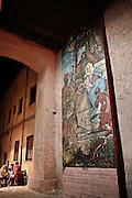 Religious paint in Castelbuono