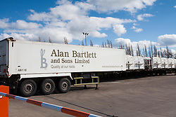 © Licensed to London News Pictures. 22/03/2014. Chatteris, UK. Alan Bartlett and Sons Limited, Root Vegetable / Salad Packaging factory. Photo credit : Terry Harris/LNP