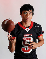 Blake Carlton will be the starting quarterback for the Madison Warhawks this fall.