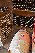 bottles on shelves the small winery Bodega La Setera, DO Arribes del Duero spain castile and leon