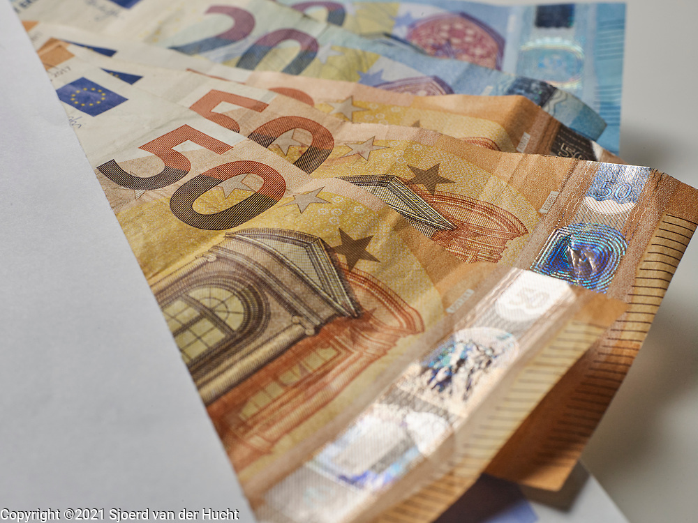 Euro als betaalmiddel.   Euro as a means of payment.