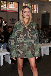 Chloe Lloyd attends the 'Streets of EQT', a street style presentation to celebrate Hailey Baldwin's new Adidas EQT campaign during London Fashion Week SS18 held at The Old Truman Brewery, London. Picture Date: Friday 15 September. Photo credit should read: Isabel Infantes/PA Wire