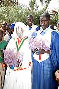 Africa, Ethiopia, Konso Christian wedding