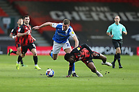 Football - 2020 / 2021 Sky Bet Championship - AFC Bournemouth vs. Birmingham City - The Vitality Stadium<br /> <br /> Gary Gardner of Birmingham City and Bournemouth's Jefferson Lerma tussle for the ball during the Championship match at the Vitality Stadium (Dean Court) Bournemouth <br /> <br /> COLORSPORT/SHAUN BOGGUST