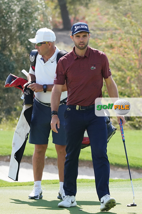 Adri Arnaus (ESP) on the 17th during the Pro-Am of the Commercial Bank Qatar Masters 2020 at the Education City Golf Club, Doha, Qatar . 04/03/2020<br /> Picture: Golffile | Thos Caffrey<br /> <br /> <br /> All photo usage must carry mandatory copyright credit (© Golffile | Thos Caffrey)