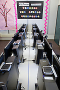 The new KLA-Tencor Computer Lab at Zanker Elementary School in Milpitas, California, on February 27, 2013. (Stan Olszewski/SOSKIphoto)