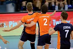 01-06-2014 NED: WLV Nederland - Zuid Korea, Eindhoven <br /> Ewoud Gommans, Yannick van Harskamp