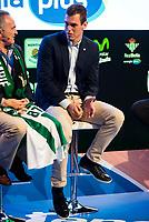 Real Betis Energia Plus player Nikola Radicevic during the presentation of the new season of La Liga Endesa 2016-2017 in Madrid. September 20, 2016. (ALTERPHOTOS/Borja B.Hojas)