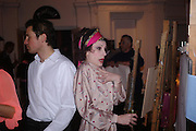 Skools Rool, fundraising event  for the Royal Academy Schools.  Burlington St. London. 14 March 2005. ONE TIME USE ONLY - DO NOT ARCHIVE  © Copyright Photograph by Dafydd Jones 66 Stockwell Park Rd. London SW9 0DA Tel 020 7733 0108 www.dafjones.com