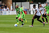 Forest Green Rovers Liam Noble (15) on the ball during the Vanarama National League match between Dover Athletic and Forest Green Rovers at Crabble Athletic Ground, Dover, United Kingdom on 10 September 2016. Photo by Shane Healey.