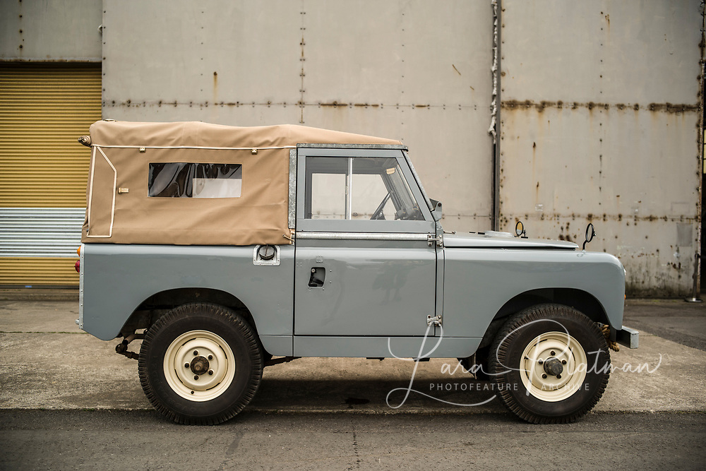 Land Rover Legends 2019 Land Rover 1964 SeriesIIA, Big Red, owned by Lara Platman. Fully nut and bolt restored. available for photographic shoots, Film props and commercials.