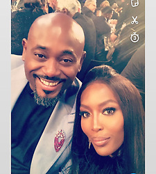 """Naomi Campbell releases a photo on Instagram with the following caption: """"#happybirthday @stevestoute !!! What can I say  your flying and I wish you tons of blessings to moon and back . Lots of love darling \ud83c\udf82\ud83c\udf82\ud83c\udf82\ud83c\udf82\ud83d\ude18\ud83d\ude18\ud83d\udc8b\ud83d\udc8b\ud83d\udc8b\ud83d\udc95\ud83d\udc95\ud83d\udc95\ud83d\udc95\ud83d\udc95\u2764\ufe0f\u2764\ufe0f\u2764\ufe0f\ud83c\udf82\ud83c\udf82\ud83c\udf82\ud83d\ude18\ud83d\ude18\ud83d\ude18\ud83d\ude18\u2764\ufe0f\ud83d\udc95\ud83d\udc95\ud83d\udc95\ud83d\udc4a\ud83c\udffe\ud83d\udc4a\ud83c\udffe @nbaontnt"""". Photo Credit: Instagram *** No USA Distribution *** For Editorial Use Only *** Not to be Published in Books or Photo Books ***  Please note: Fees charged by the agency are for the agency's services only, and do not, nor are they intended to, convey to the user any ownership of Copyright or License in the material. The agency does not claim any ownership including but not limited to Copyright or License in the attached material. By publishing this material you expressly agree to indemnify and to hold the agency and its directors, shareholders and employees harmless from any loss, claims, damages, demands, expenses (including legal fees), or any causes of action or allegation against the agency arising out of or connected in any way with publication of the material."""