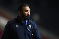 Rugby Union - 2020 / 2021 Gallagher Premiership - Bristol Bears vs Bath - Ashton Gate<br /> <br /> Bristol Bears' Head Coach Pat Lam during the pre match warm up.<br /> <br /> COLORSPORT