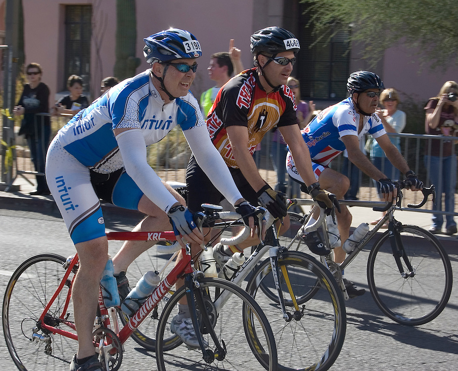 Riders finishing 2009 El Tour de Tucson. Bike-tography by Martha Retallick.
