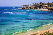 Beautiful Coast Line Of Laguna Beach California