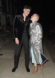 Celebrities attend the GQ Men of the Year Awards Afterparty, held at the home of Matthew Freud. 06 Sep 2018 Pictured: Rose McGowan. Photo credit: Will / MEGA TheMegaAgency.com +1 888 505 6342