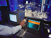 Chiron Therapeutics. Robotic Synthesizer. Emeryville, California. [1995]