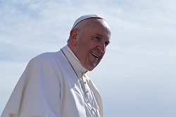 May 3, 2017 - Vatican City State (Holy See) - POPE FRANCIS during his wednesday general audience in St. Peter's Square at the Vatican  (Credit Image: © Evandro Inetti via ZUMA Wire)