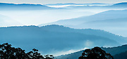 "View from Matlock, Victoria over the Victorian Alps, Australia<br /> 76.9cm x 35.9cm (30.3"" x 14.1"")<br /> Edition of 5"