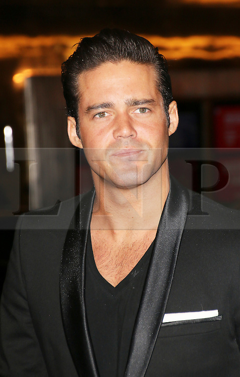 © London News Pictures. Spencer Matthews attends the Exhibition of exclusive photographs of Kate Moss at The Savoy, London UK, 30 January 2014, Photo credit: Richard Goldschmidt/LNP