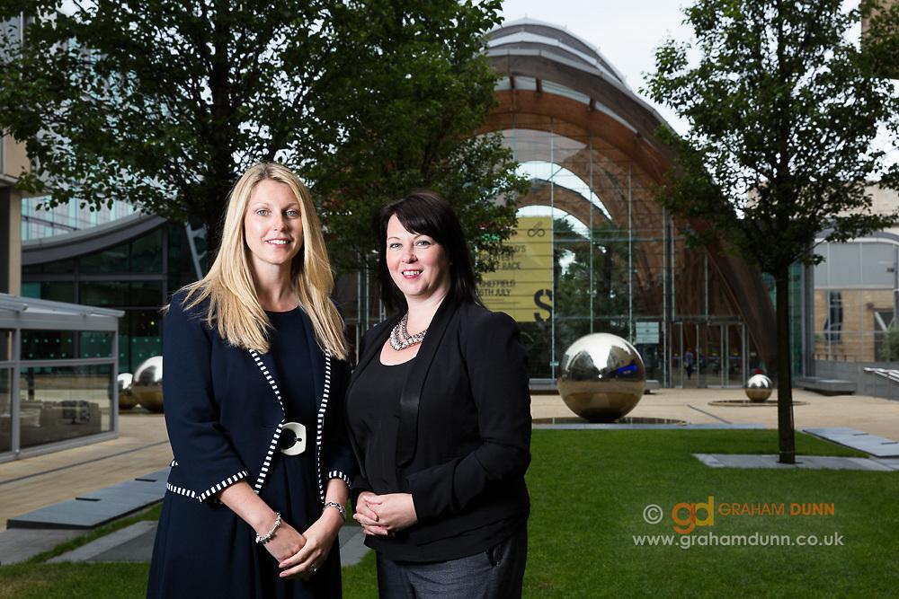 Corporate portrait, commercial business partner portraiture - Sheffield