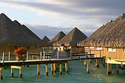 Overwater Bungalows, Bora Bora, Society Islands, South Pacific