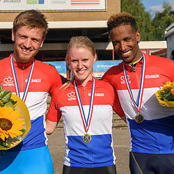 18-06-2017: Wielrennen: NK Paracycling: Montferland<br /> s-Heerenberg (NED) wielrennen Nederlands kampioenen C1-5 mannen en vrouwen met Stijn Boersma, Daniel Abraham Gebru en Caroline Groor