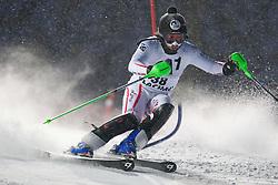 21.12.2011, Hermann Maier Weltcup Strecke, Flachau, AUT, FIS Weltcup Ski Alpin, Herren, Slalom 1. Durchgang, im Bild Rainer Schoenfelder (AUT) in Aktion // Rainer Schoenfelder of Austria in action during Slalom race 1st run of FIS Ski Alpine World Cup at 'Hermann Maier World Cup' course in Flachau, Austria on 2011/12/21. EXPA Pictures © 2011, PhotoCredit: EXPA/ Johann Groder