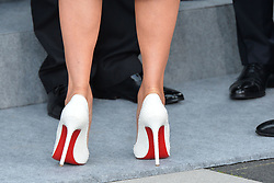 July 7, 2017 - Hamburg, Germany - Shoes of Melania Trump, First Lady of the United States.G20 SUMMIT: Reception and concert at Elbphilharmonie, Hamburg, Germany - 07 Jul 2017.Credit: Timm/face to face (Credit Image: © face to face via ZUMA Press)