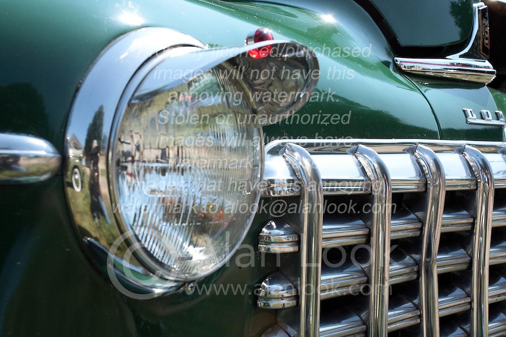7 August 2010: 1948 Dodge.  Antique Car show, David Davis Mansion, Bloomington Illinois