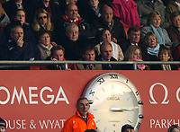 Photo: Javier Garcia/Back Page Images<br />Southampton v Middlesboro, FA Barclays Premiership, St Mary's Stadium 11/12/04<br />Harry Redknapp on the phone alongside Rupert Lowe and Sven Goran Eriksson
