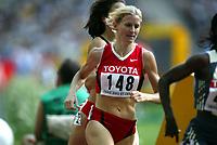Friidrett, 23. august 2003, VM Paris,( World Championschip in Athletics),  Diane Cummins, Canada