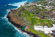 Black Point,Salt Water Pool, Kahala; Honolulu; Oahu; Hawaii; USA