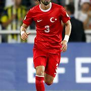 Turkey's Hasan Kaldirim during their FIFA World Cup 2014 qualifying soccer match Turkey betwen Estonia at Sukru Saracoglu stadium in Istanbul September 11, 2012. Photo by TURKPIX
