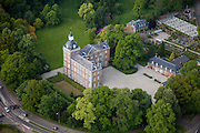 Nederland, Limburg, Gemeente gemeente Schinnen, 27-05-2013; dorp en kasteel Amstenrade<br /> Village and castle Amstenrade.<br /> luchtfoto (toeslag op standaardtarieven);<br /> aerial photo (additional fee required);<br /> copyright foto/photo Siebe Swart.