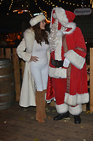 lizzie Cundy at the Hyde Park Winter Wonderland - VIP Launch at Hype Park, London, England photo by Brian Jordan