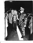 Donatella Versace and Eltojn John at Planet Hollywood. Los Angeles. 1989 approx. © Copyright Photograph by Dafydd Jones 66 Stockwell Park Rd. London SW9 0DA Tel 020 7733 0108 www.dafjones.com