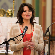 NLD/Amsterdam//20140327 - Presentatie deelnemers Op Zoek naar God 2014, dj 100% Isis van der Wel