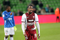 Deception Metz - Romain METANIRE - 09.05.2015 -  Metz / Lorient  - 36eme journee de Ligue 1<br />