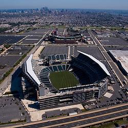 Aerial view off Lincoln Financial Field, Citizens Bank Park, Spectrum Philadelphia, Pennsylvania
