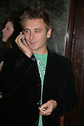 Dan Stein. PJ's Annual Polo Party . Annual Pre-Polo party that celebrates the start of the 2007 Polo season.  PJ's Bar & Grill, 52 Fulham Road, London, SW3. 14 May 2007. <br />