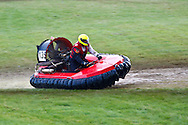 Towcester, England,  28-29th August 2010: 135 Lars Llawoon (Germany) during the World Hovercraft Championships at Towcester Race Course, Towcester, Nothamptonshire, UK (photo by Lee Irvine/SLIK images)
