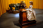 Her Majesty the queen has opened on Wednesday 12 April in national museum from Speelklok to pierement in Utrecht the exibition Royal Music machines.<br /> <br /> Hare Majesteit de Koningin heeft op woensdag 12 april in Nationaal Museum van Speelklok tot Pierement te Utrecht de tentoonstelling Royal Music Machines geopend.<br /> <br /> op de foto: organ La Musicienne from 1773